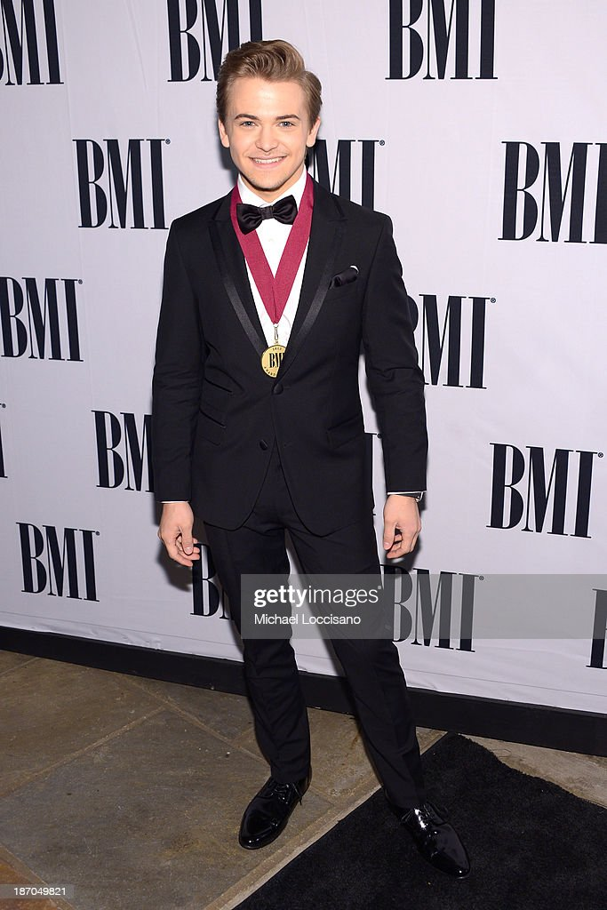 <a gi-track='captionPersonalityLinkClicked' href=/galleries/search?phrase=Hunter+Hayes&family=editorial&specificpeople=3290701 ng-click='$event.stopPropagation()'>Hunter Hayes</a> attends the 61st annual BMI Country awards on November 5, 2013 in Nashville, Tennessee.