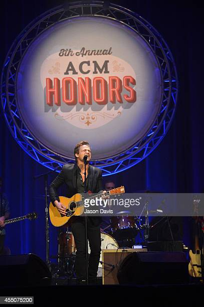 Hunter Hayes performs at the 8th Annual ACM Honors at the Ryman Auditorium on September 9 2014 in Nashville Tennessee