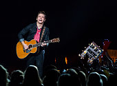 Hunter Hayes performs in support of the Tattoo Tour at The Palace of Auburn Hills on November 22 2014 in Auburn Hills Michigan