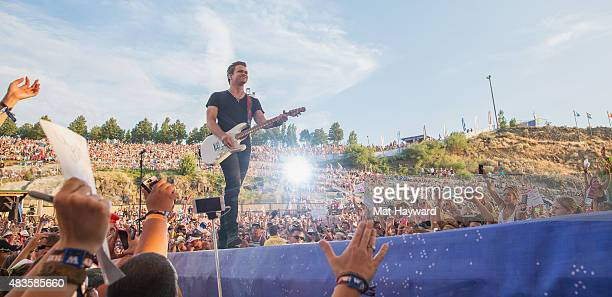 Hunter Hayes performs on stage during the Watershed Music Festival at The Gorge on August 1 2015 in George Washington
