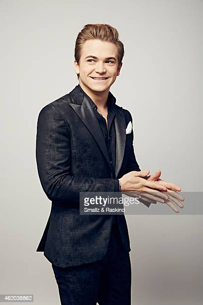 Hunter Hayes poses during the The 41st Annual People's Choice Awards at Nokia Theatre LA Live on January 7 2015 in Los Angeles California