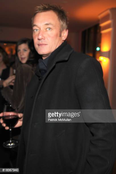 Hunter Hill attends The PURPLE Fashion Magazine Dinner at Kenmare on February 14 2010 in New York City