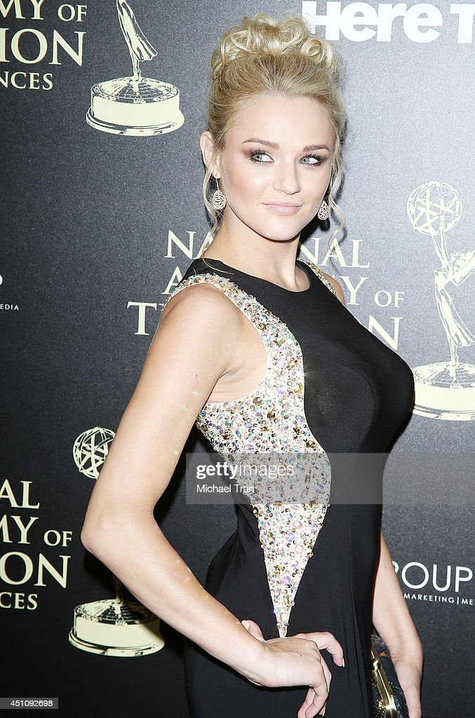 <a gi-track='captionPersonalityLinkClicked' href=/galleries/search?phrase=Hunter+King&family=editorial&specificpeople=9938218 ng-click='$event.stopPropagation()'>Hunter King</a> arrives at the 41st Annual Daytime Emmy Awards held at The Beverly Hilton Hotel on June 22, 2014 in Beverly Hills, California.