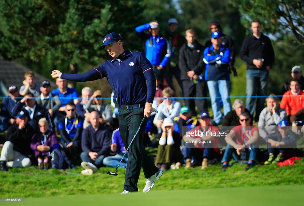Morning Fourballs - 2014 Ryder Cup