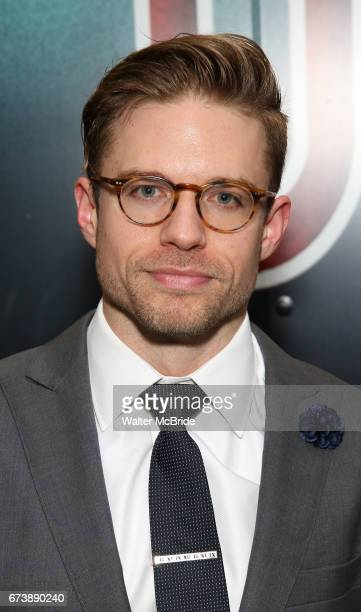 Hunter Ryan Herdlicka attends the Broadway Opening Night performance of 'Bandstand' at the Bernard B Jacobs Theatre on 4/26/2017 in New York City