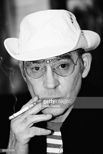 Hunter S Thompson American gonzo journalist and author 14th April 1996