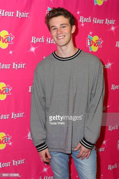 Hunter Summerall at Rock Your Hair Presents Rock Back to School Concert Party on September 30 2017 in Los Angeles California
