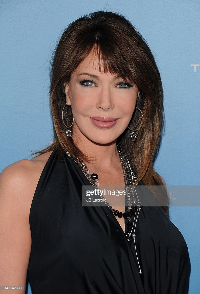 Hunter Tylo attends the 25th Silver Anniversary party for CBS' 'The Bold And The Beautiful on March 10, 2012 in Los Angeles, California.