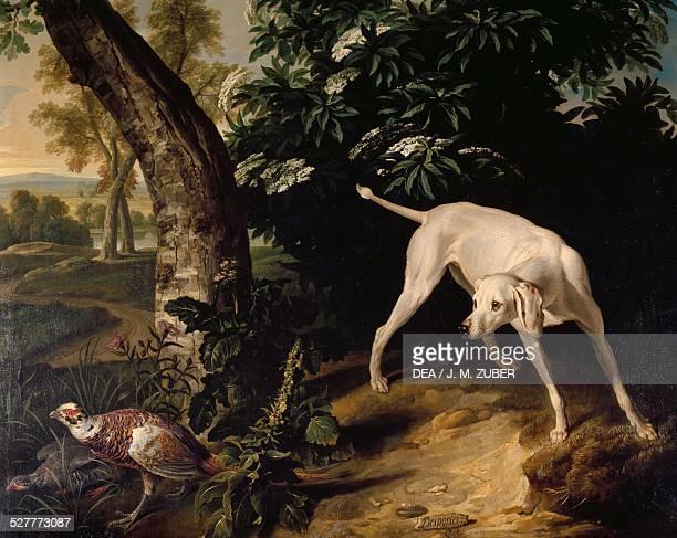 Hunting scene detail from a painting by AlexandreFrancois Desportes France 18th century Paris Musée De La Chasse Et De La Nature