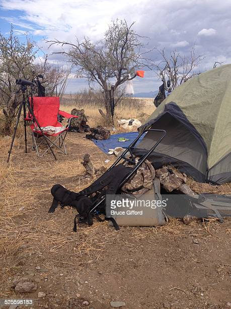 Hunting season Base camp three miles from truck Two trips pre season to pack in camp Whitetail deer muzzle loader rifle hunt November 14 2013