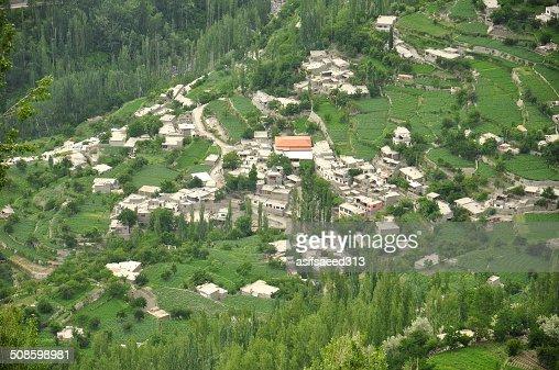 Hunza town : Stock Photo