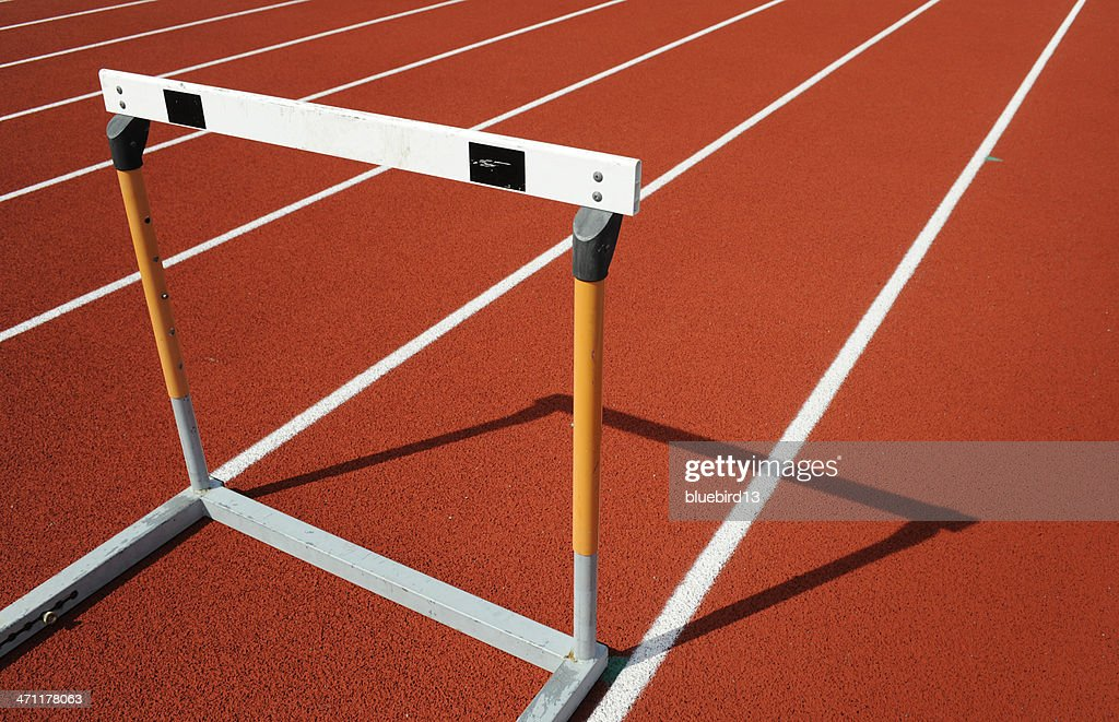 Hurdle : Stock Photo