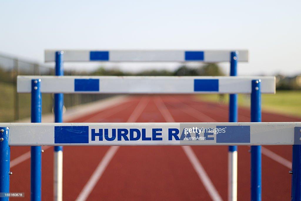 Hurdle Rate : Stock Photo