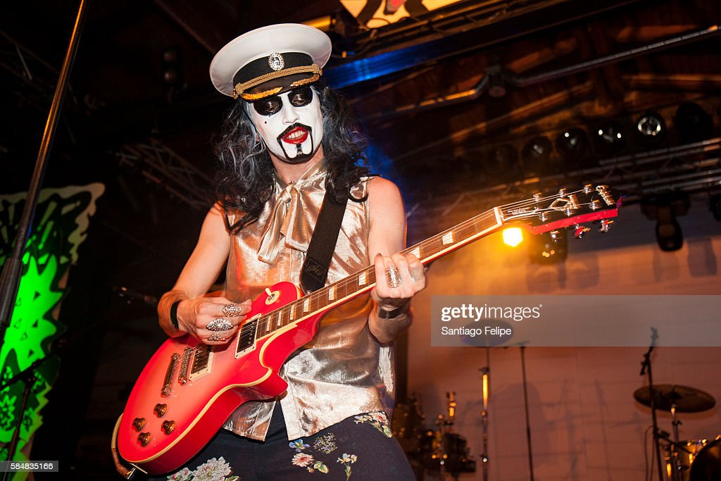 Hurr Oberst of Sado Opera performs onstage during the Yo Sissy music festival at Postbahnhof on July 29 2016 in Berlin Germany