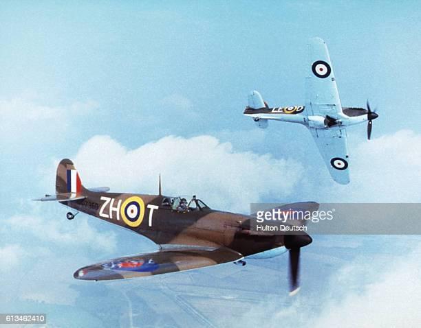 Hurricane And Spitfire Aircraft