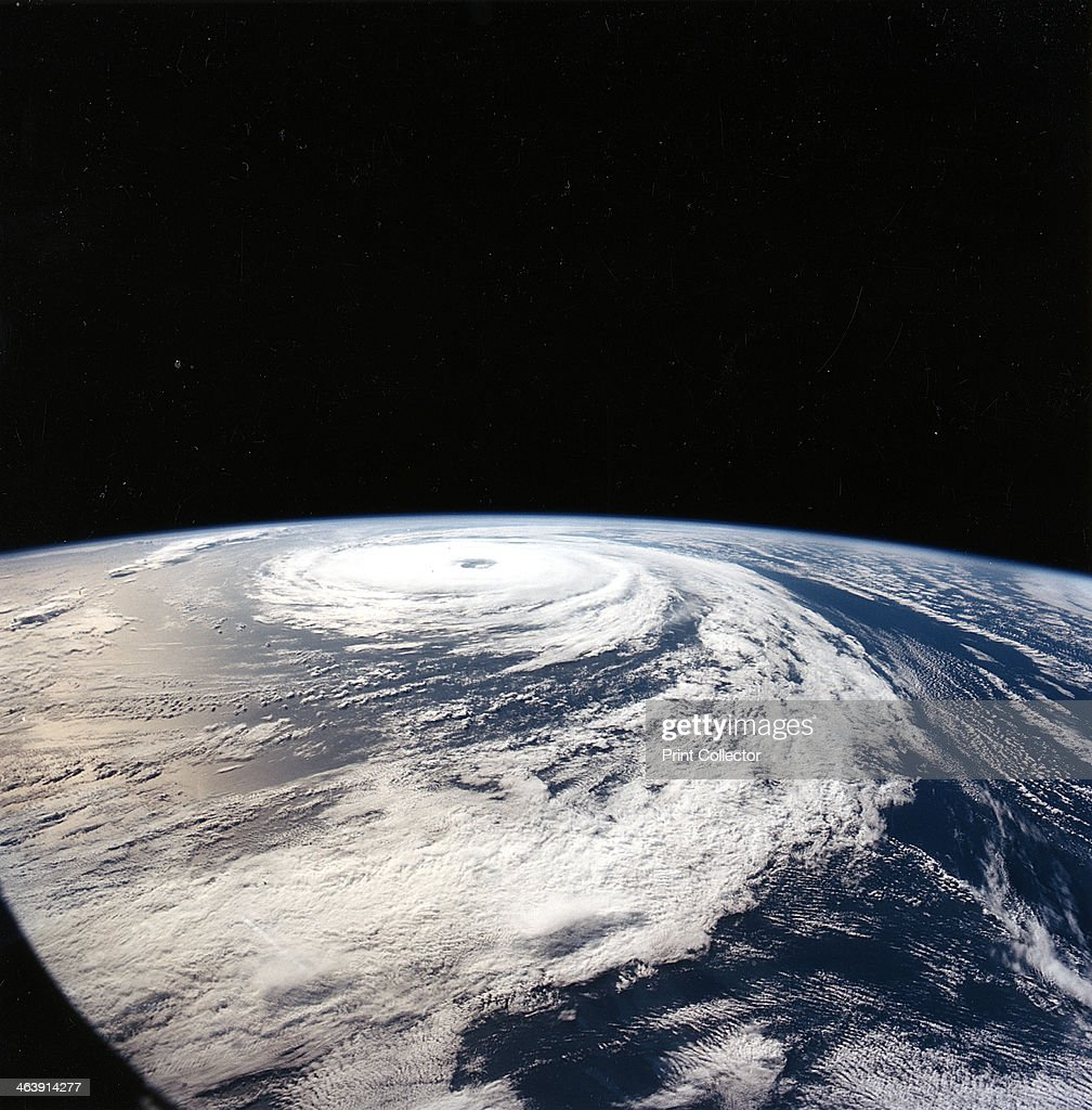 Hurricane 'Florence' NASA photograph taken from the Space Shuttle Atlantis from 165 nautical miles above the Earth