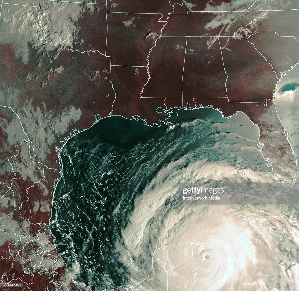 Hurricane Gilbert : Stock Photo