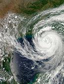 Hurricane Isaac approaching Louisiana