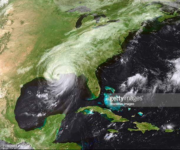 'Hurricane Katrina moved ashore over southeast Louisiana and southern Mississippi early on August 29, 2005, as an extremely dangerous Category 4 storm. '