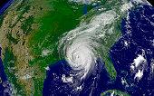 Hurricane Katrina regional imagery.