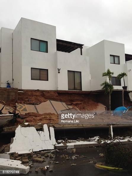Hurricane Odile destruction in Cabo San Lucas Mexico