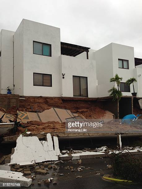 Hurricane Odile destruction in Cabo San Lucas Mexico