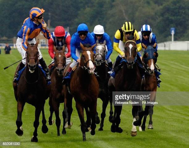 Hurricane Run and jockey Christophe Soumillon wins The King George VI and Queen Elizabeth Diamond Stakes at Ascot racecourse