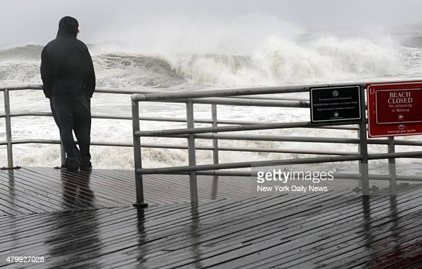 Hurricane Sandystarts hitting The Rockaways Monday October 29 2012 Queens NY