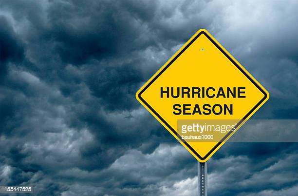 Hurricane Season Road Sign
