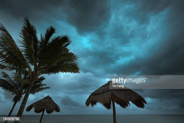 Hurricane Storm Season in Tropical Paradise