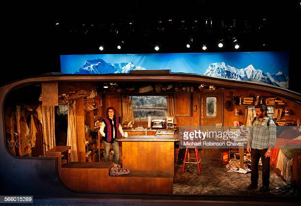 Husband and wife actors Nick Offerman and Megan Mulally are teamed together in a production of Annapurna at the Odyssey Theater in Los Angeles It is...