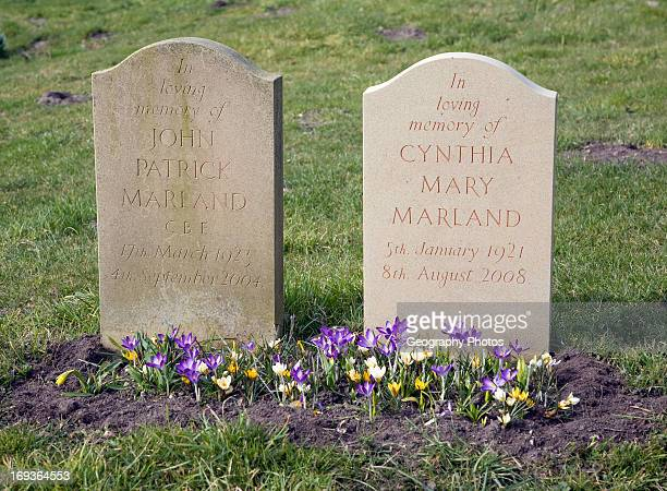 Husband and wife headstones reunited in death