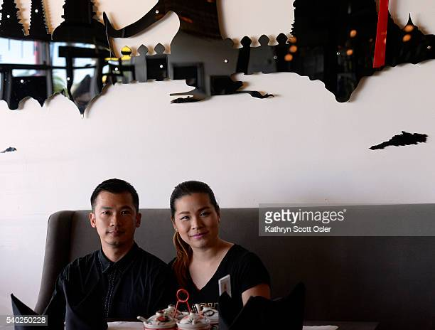Husband and wife owners Surachai Surabotsopon left and Nithiwadee Anantatho of Thailicious restaurant in Edgewater say one of their patrons left a...