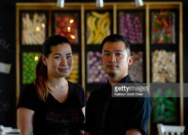 Husband and wife owners Surachai Surabotsopon right and Nithiwadee Anantatho of Thailicious restaurant in Edgewater say one of their patrons left a...