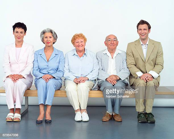 Husband and Wife with Parents