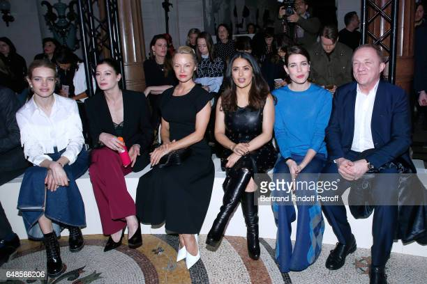 Husband of Stella Alasdhair Willis Natalia Vodianova Pamela Anderson MarieAgnes Gillot Salma Hayek Charlotte Casiraghi and CEO of Kering Group...