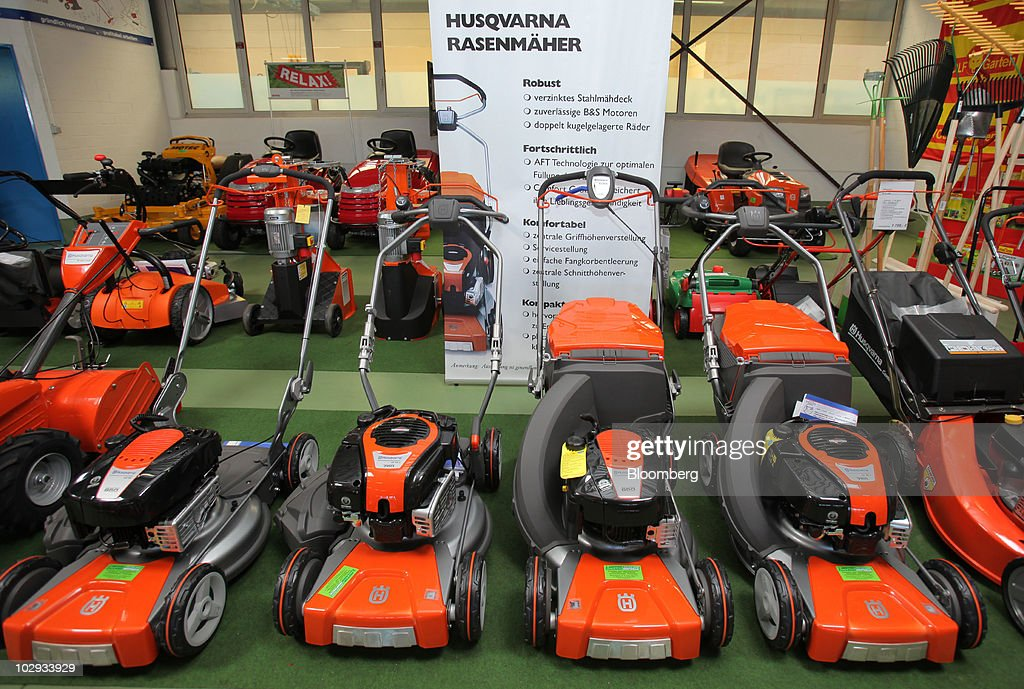 Husqvarna Products Ahead Of Earnings Getty Images
