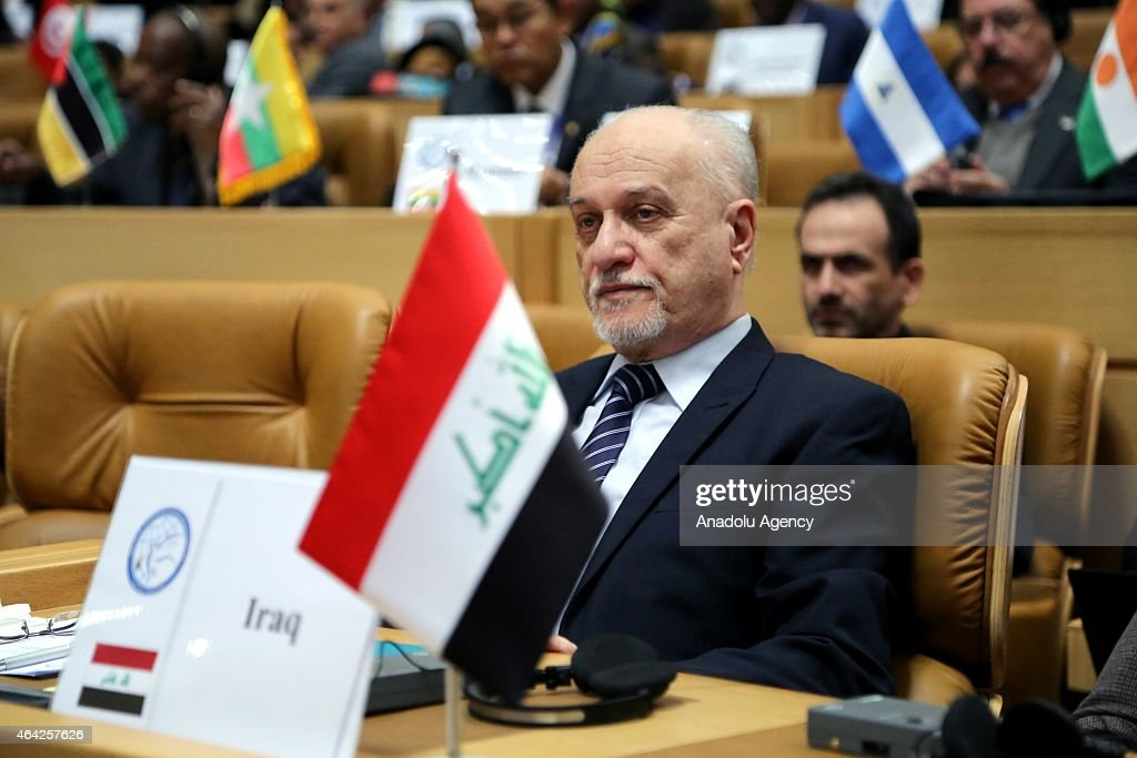 Hussain al-Shahristani Iraq's Minister of Education takes part in the Ministerial Conference on Science, Technology and Innovation of the Non-Aligned Movement (NAM) in Tehran on February 23, 2015.