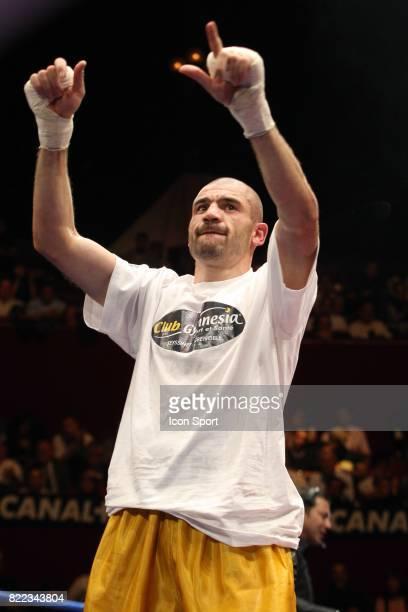 Hussein BAYRAM Championnat europeen des poids moyens finale du Grand Tournoi des poids Welters Cirque d'Hiver de Paris