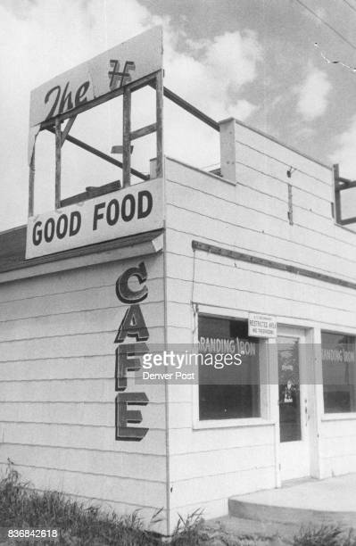 Husted The Branding Iron Cafe Husted The building was Credit Denver Post