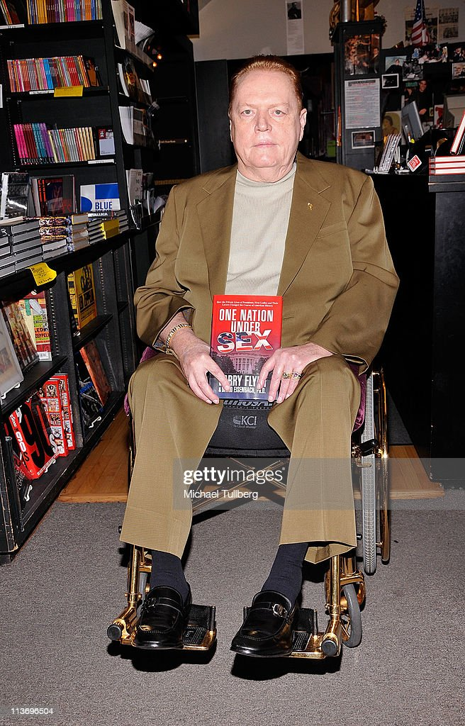 """Larry Flynt & David Eisenbach Book Signing For """"One Nation Under Sex"""""""