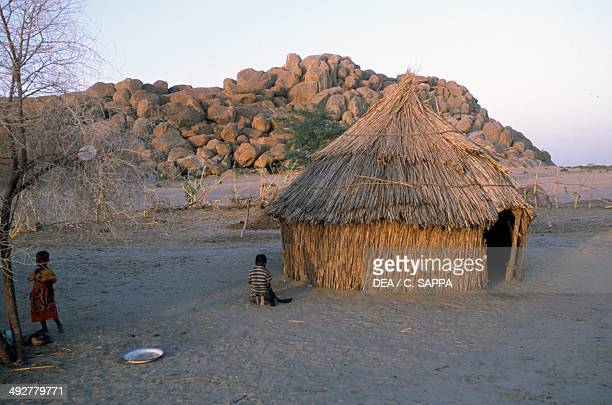 Hut near N'Djamena Chad