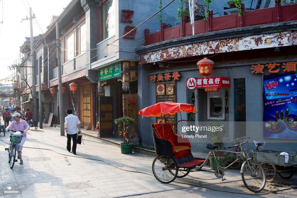 Hutong area, Dongcheng.