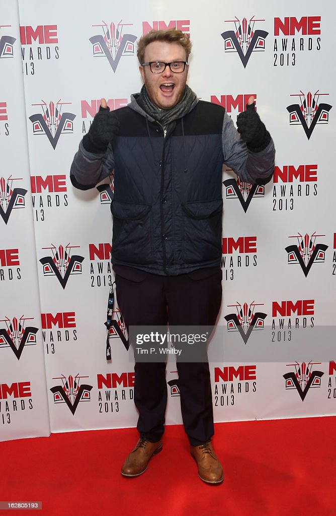 Huw Stephens attends the NME Awards 2013 at the Troxy on February 27, 2013 in London, England.