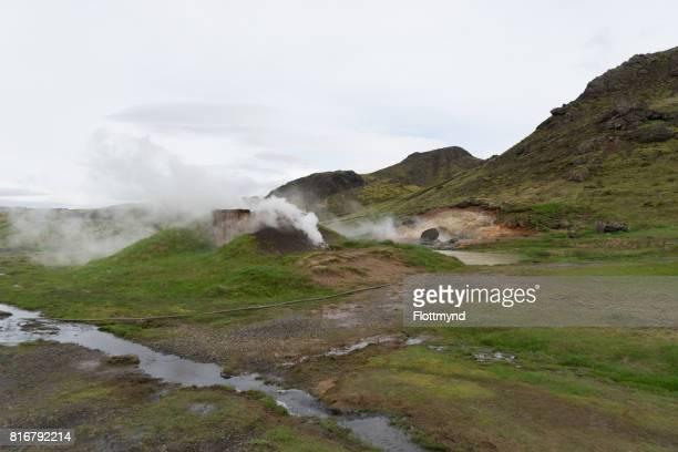 Hveradolum geothermal activity