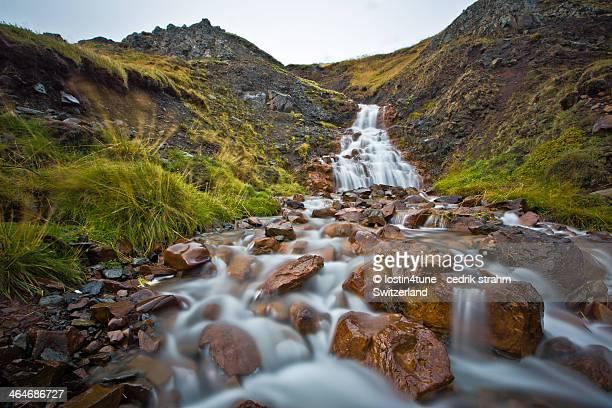 Hvitserkur - waterfall - long exposure