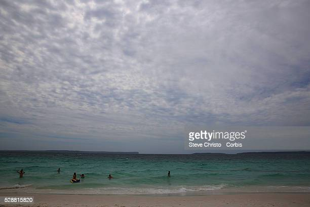Hyams Beach is a seaside village with a population of 290 in the Shoalhaven New South Wales on the shores of Jervis Bay Sydney Australia Wednesday...
