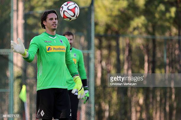 HYann Sommer of Borussia Moenchengladbach during a training session at day eight of Borussia Moenchengladbach training camp on January 15 2015 in...