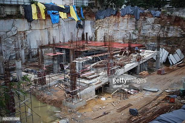 IND Hyderabad Baustelle