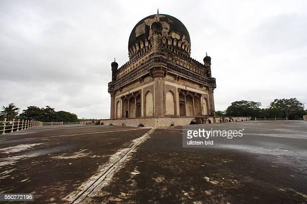 IND Hyderabad Tombs Qutub Shahi Tombs Golconda Fort Bundesstaat Andhra Pradesh